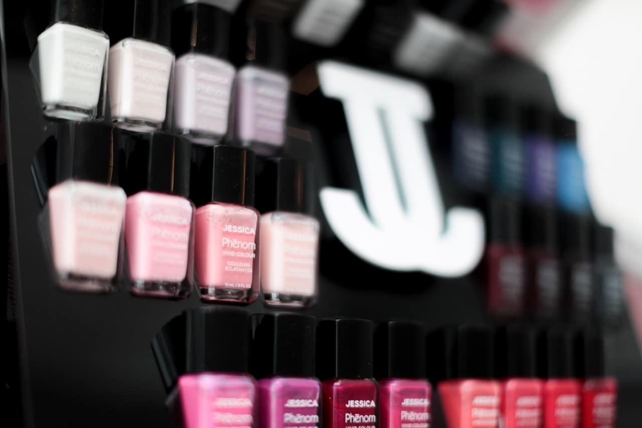 Jessica Nails product selection
