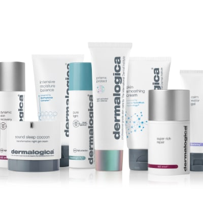 Range of dermalogica products
